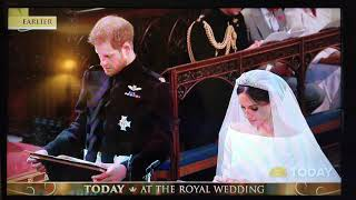 Harry and Meghan Royal Wedding H.G. Bishop Angelos blessing