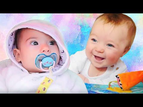 Spielspaß mit Puppen - Spielen mit Babys - 3 Kindervideos am Stück