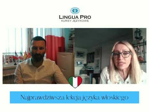 Kadr z filmu na youtube - Najprawdziwsza lekcja języka włoskiego 17_20