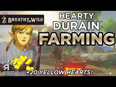 Video Zelda: Breath of the Wild - Hearty Durian Farming (Easy +20 Yellow Hearts!)
