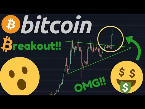 THE BITCOIN BREAKOUT IS BREAKING NOW!!! BITCOIN TO $10,000?!?!? IT'S HAPPENING!!