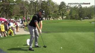 [1080p HD] Alexander Noren 2012 Driver Golf Swing (1)_European Tour