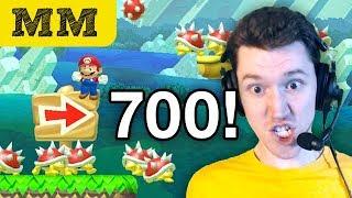 Morning Mario #700 • SUPER EXPERT (100 Mario Challenge)