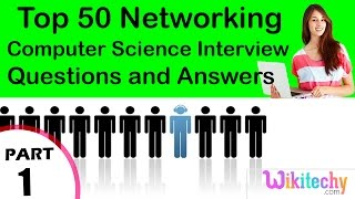Top 50 Networking cse technical interview questions and answers Tutorial for Fresher