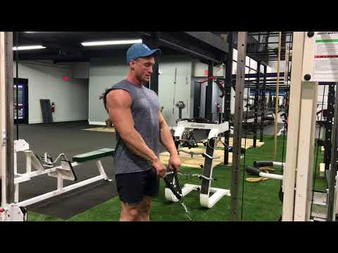 Exercise Demo: Cable Upright Row