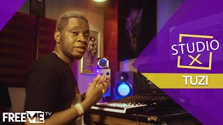 (Reekado Banks   Rora) Studio X: The Making Of Rora By Tuzi|| FreeMe TV