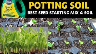 Seed Starting Mix - Starting seeds and fertilizing seedlings