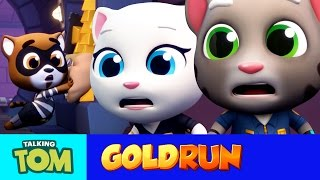 Talking Tom Gold Run  The Hammer Of Justice Official Trailer