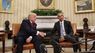 Obama, Trump discuss peaceful transition of power at White House
