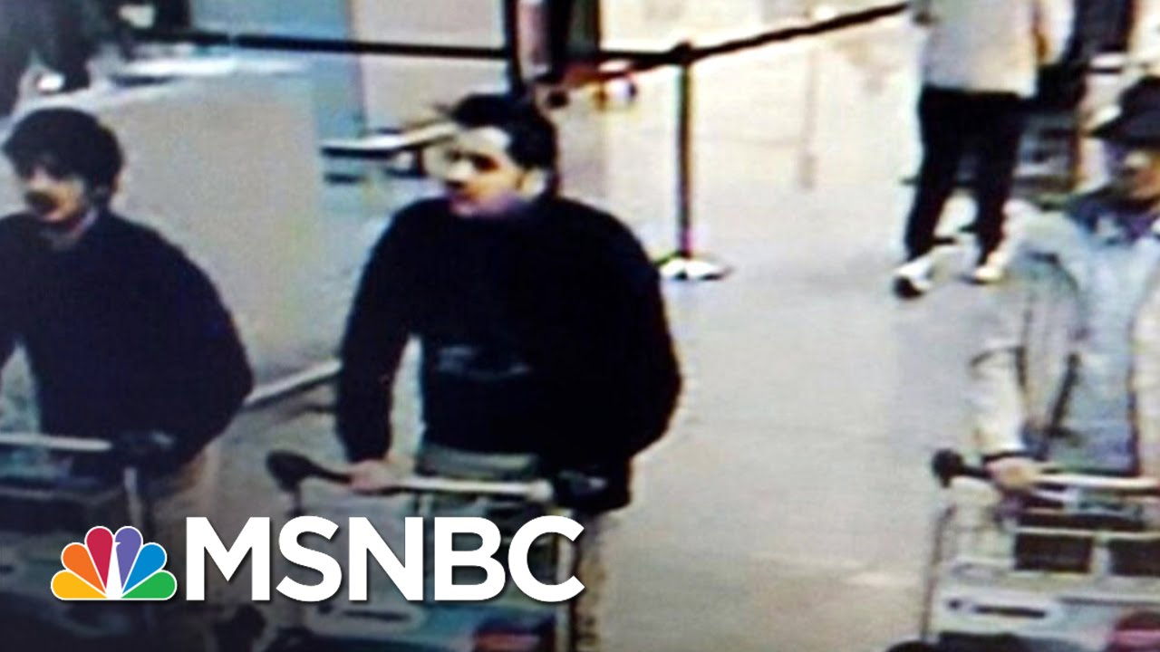 Belgian Police Investigating Three Suspects   Andrea Mitchell   MSNBC thumbnail