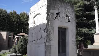 Монументальное кладбище (Cimitero Monumentale di Milano), Милан (Италия), часть1