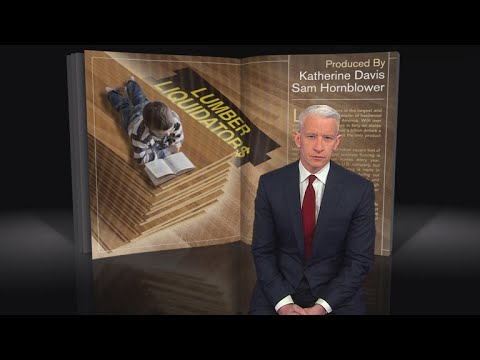 60 Minutes story on Lumber Liquidators that led to a $36 million settlement -- Selling lumber with unsafe levels of formaldehyde across the USA