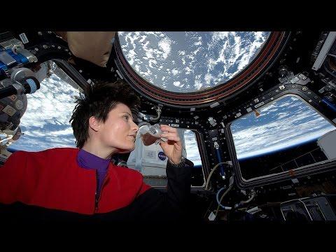 Como desayunar un buen café en la  Estación Espacial