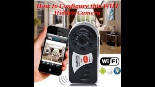 Q7 Hidden Wifi HD Camera For Baby Monitor Unboxing & Review