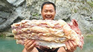 【山藥村二牛】牛排骨這次吃才霸氣,一次做個10斤,吃的真過癮