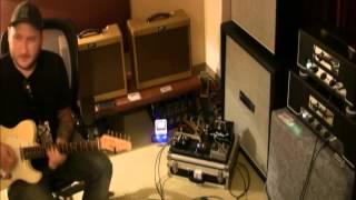 Gjika KT66 50 Watt Amplifier played by Josh Smith