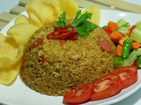 Video Resep cara membuat nasi goreng lezat ( Fried Rice )