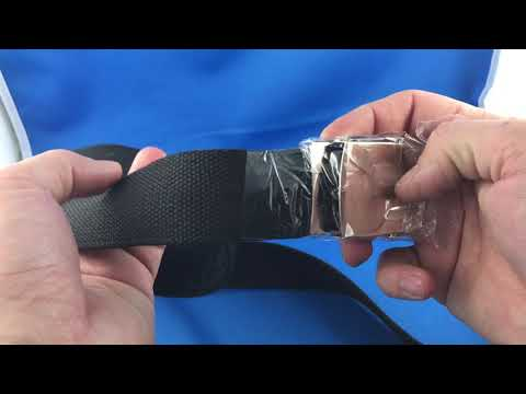 Belt with secret hidden pocket for money  AliExpress.com Unboxing Review