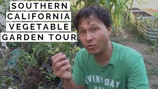 Southern California Organic Vegetable Garden Tour