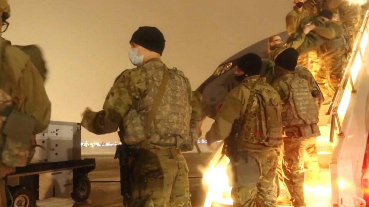 Στρατιώτες καταφθάνουν στην Ουάσιγκτον για να ενισχύσουν την ασφάλεια στο Καπιτώλιο