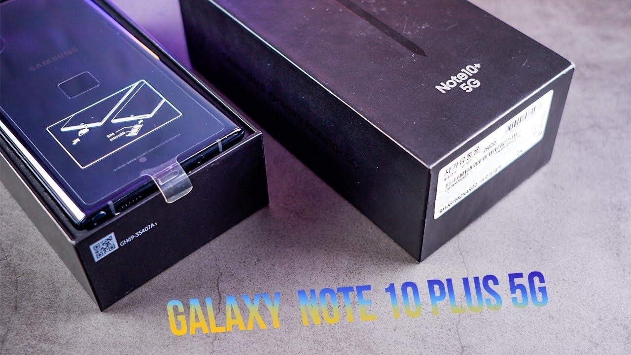 Galaxy Note 10+ 5G chỉ hơn 18 triệu: Hơn kém gì so với bản Việt Nam?