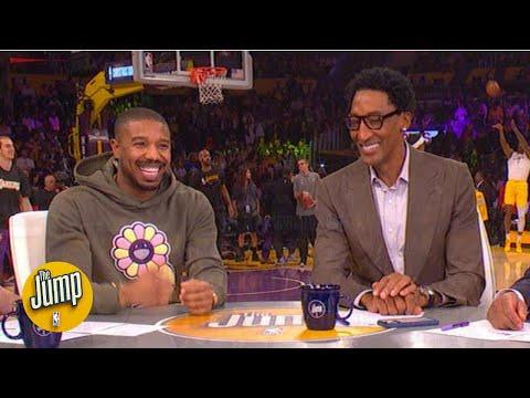 It's a Michael Jordan-Scottie Pippen reunion! (Michael B. Jordan, that is) | The Jump