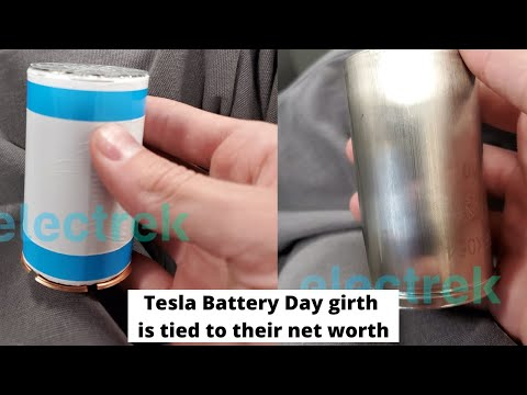 Tesla Battery Day g1rth is tied to their net worth