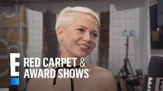 Michelle Williams On Filming Manchester By The Sea  E Live From The Red Carpet