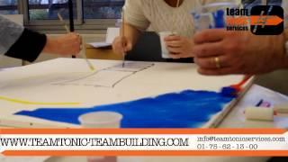 Teaser Team Building Créatif : Fresque géante, par Team Tonic Services.