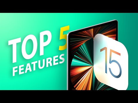 Video: Top 5 Most Useful Features in iPadOS 15
