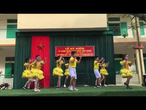 Phần thi 20/11/2019 của trò lớp 5C Trường Tiểu học và THCS Vũ Lễ
