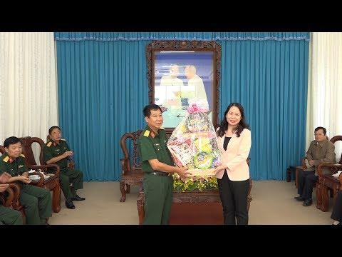 Bí thư Tỉnh ủy thăm và chúc mừng ngày thành lập Quân đội nhân dân Việt Nam