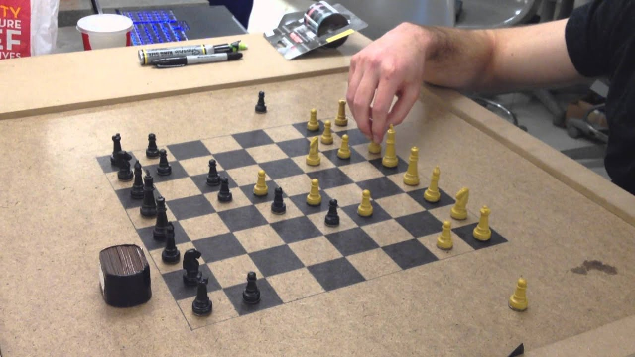 Robot Chess Boards Let You Physically Checkmate An Online Opponent
