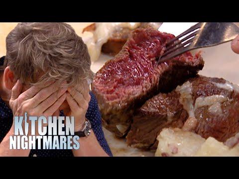 a steak pun is a rare medium well done | Kitchen Nightmares