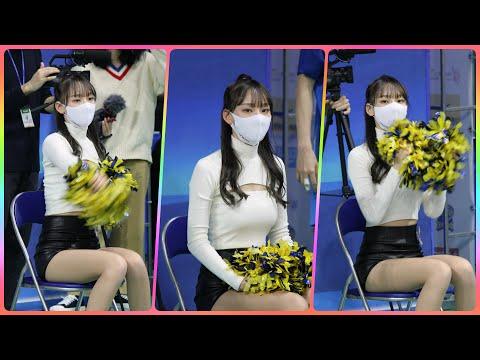 치어리더 정희정 직캠 (cheerleader) - 경기 응원모음 @여자농구(우리은행)/201130/Fanca…