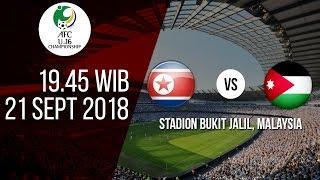 Jadwal Laga Piala AFC Cup U-16 2018, Korea Utara Vs Yordania, Pukul 20.45 WIB