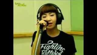 2NE1 Say Goodbye (Radio Live)