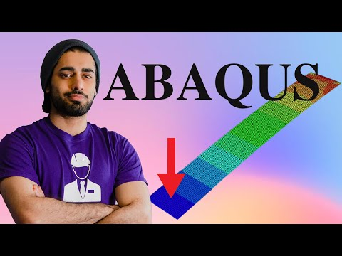 Abaqus Computer Modeling Full Tutorial for Beginners - YouTube