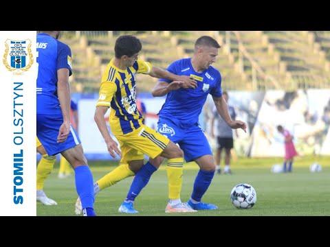 Skrót meczu Stomil Olsztyn - Arka Gdynia 0:1