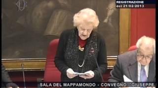"\""Giuseppe Dossetti\"" - On. Codrignani"