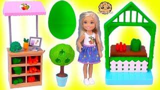 Barbie Kid Chelsea Farmer Doh Play Set + Surprise EGG In Garden
