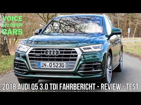 Фото к видео: 2018 Audi Q5 3.0 TDI (286 PS) Diesel Fahrbericht Probefahrt Test Review Voice over Cars