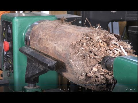 279 Wood-turning the incredible vanishing vase