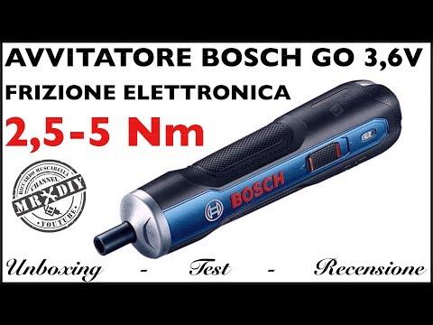 Recensione avvitatore BOSCH GO 3,6V 5NM. Cacciavite con frizione elettronica. GEARBEST