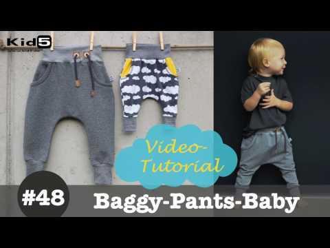 Coole Baby Hose selber nähen - DIY-Näh-Tutorial