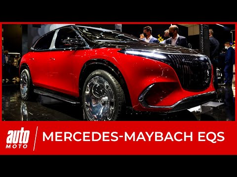Mercedes-Maybach EQS : premières infos sur le SUV de luxe au salon de Munich