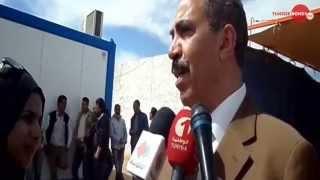 preview picture of video 'le Ministre de l'Equipement intervient d'urgence concernant le projet d'autoroute Médenine Ras Jedir'