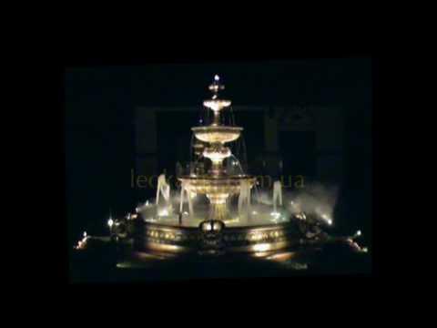 Видео к Комплектация дополнительно оборудованием фонтана с бассейном (арт. 354, арт. 032) №1