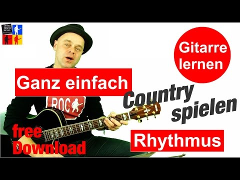 Wie spielt man Countrygitarre? - Gitarre lernen 🎸