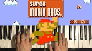 mario invincible song piano - TH-Clip